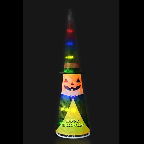 LEDパンプキンコーンライト 180cm ハロウィン