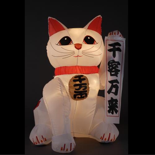 エアーディスプレイ 福招き猫(L)