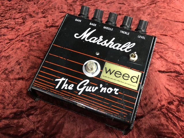 【即納可能】weed Marshall / The Guv'nor GERMA