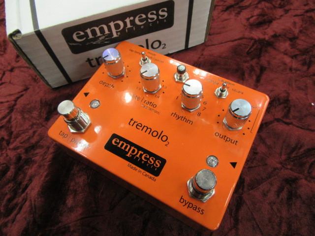 【即納可能】Empress Effects Tremolo2※筐体に軽度のキズあり※【年末年始スペシャルSALE】