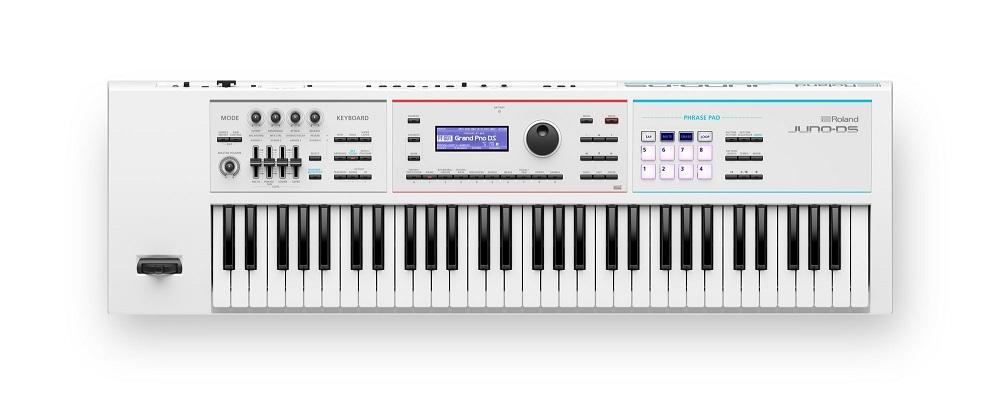 【お取り寄せ商品 JUNO-DS61W】Roland Synthesizer JUNO-DS61W Synthesizer/ ホワイト】【期間限定特典:背負えるキャリングケースが付属】, 硝子工房ヴァレーホース:d2e20244 --- jpworks.be