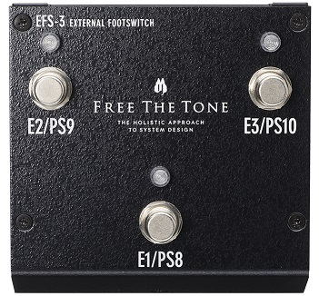 FREE THE TONE EXTERNAL アウトレット☆送料無料 EFS-3 お買得 FOOTSWITCH
