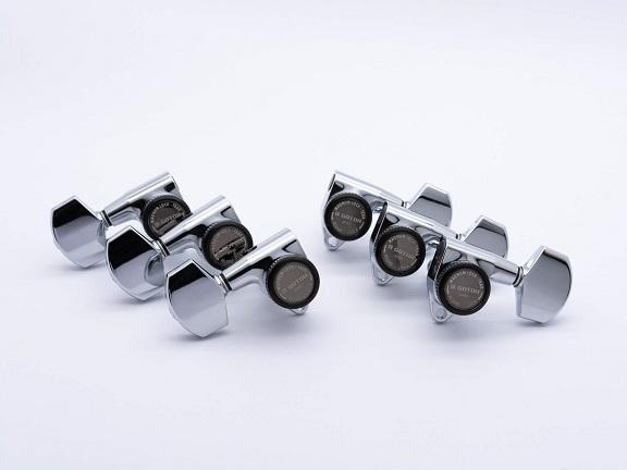ESP Parts SG301-01 L3+R3 SET MG-TB Chrome 新色追加して再販 ペグ MAGNUM LOCK マグナムロック 数量は多 パーツ クローム 両連用