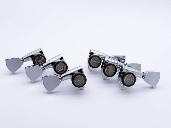 ESP Parts マーケティング SG301-04 L3+R3 SET 新入荷 流行 MG-TB Chrome LOCK 両連用 クローム ペグ MAGNUM パーツ マグナムロック
