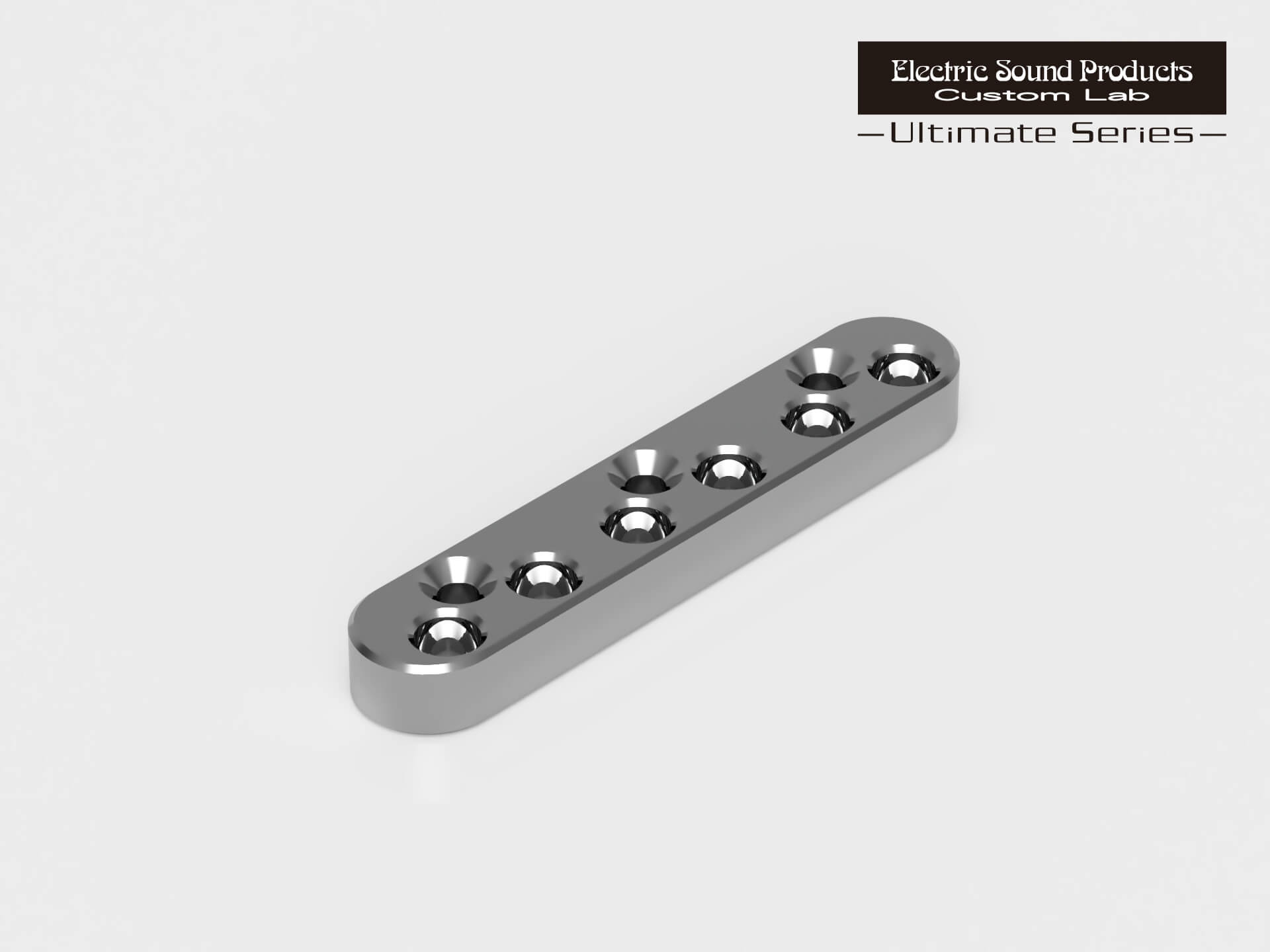 ESP Parts Custom Lab String Back Plate メーカー在庫限り品 6弦用 パーツ カスタムラボ アルティメイトシリーズ Chrome 即出荷 クローム 6
