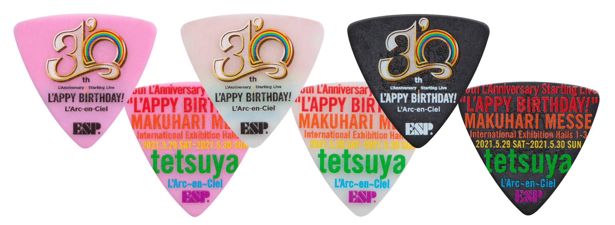 即納可能 L'Arc~en~Ciel tetsuya30th L'Anniversary Starting Live
