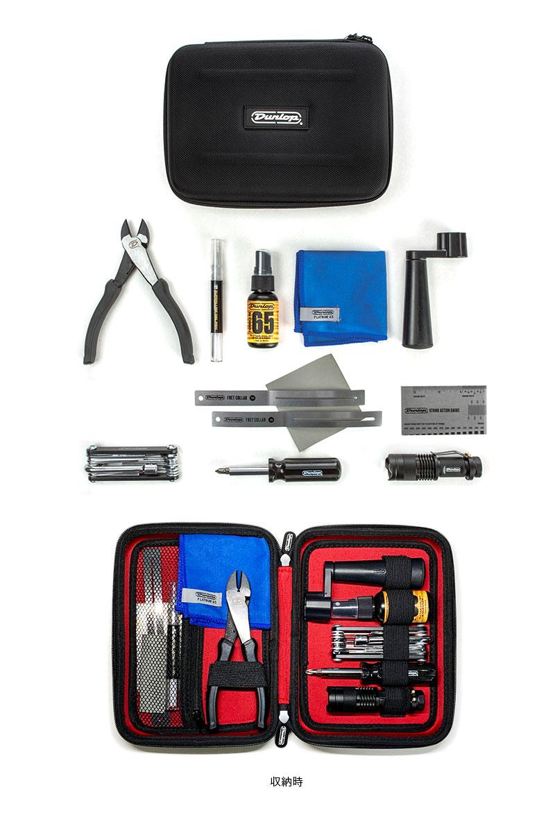 お取り寄せ商品 Jim Dunlop DGT102 オンラインショッピング SYSTEM 65 GUITAR COMPLETE SETUP メンテナンスキット 工具セット KIT 正規店 ジムダンロップ 弦交換 ギターストリングチェンジキット
