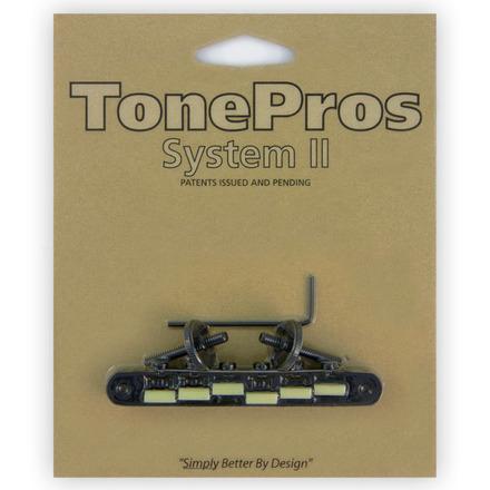 今季も再入荷 TonePros AVR2G-B ブラック トーンプロス ブリッジ 希少