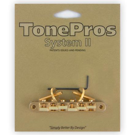 TonePros 定番 AVR2G-G ゴールド ブリッジ 在庫限り トーンプロス