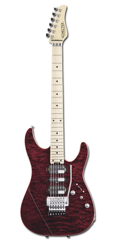SCHECTER NV-3-24-AL / RED