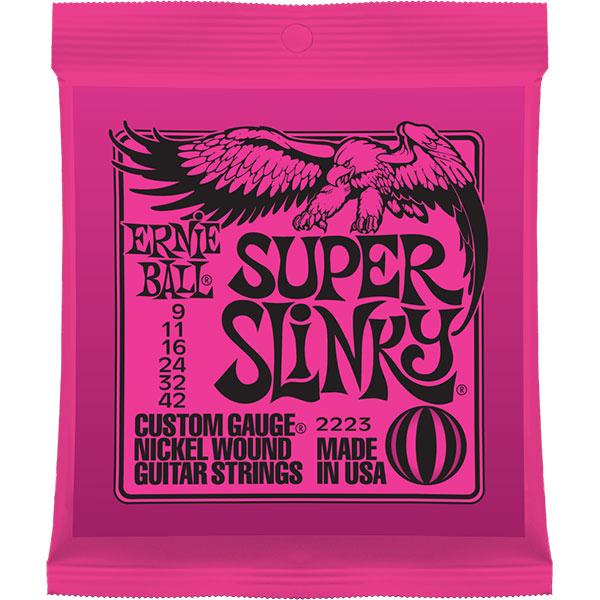 即納可能 ERNIE BALL SUPER 入荷予定 SLINKY エレキギター弦 ストア
