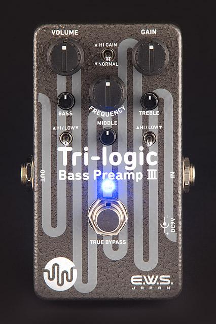E.W.S Tri-logic Bass Preamp 3