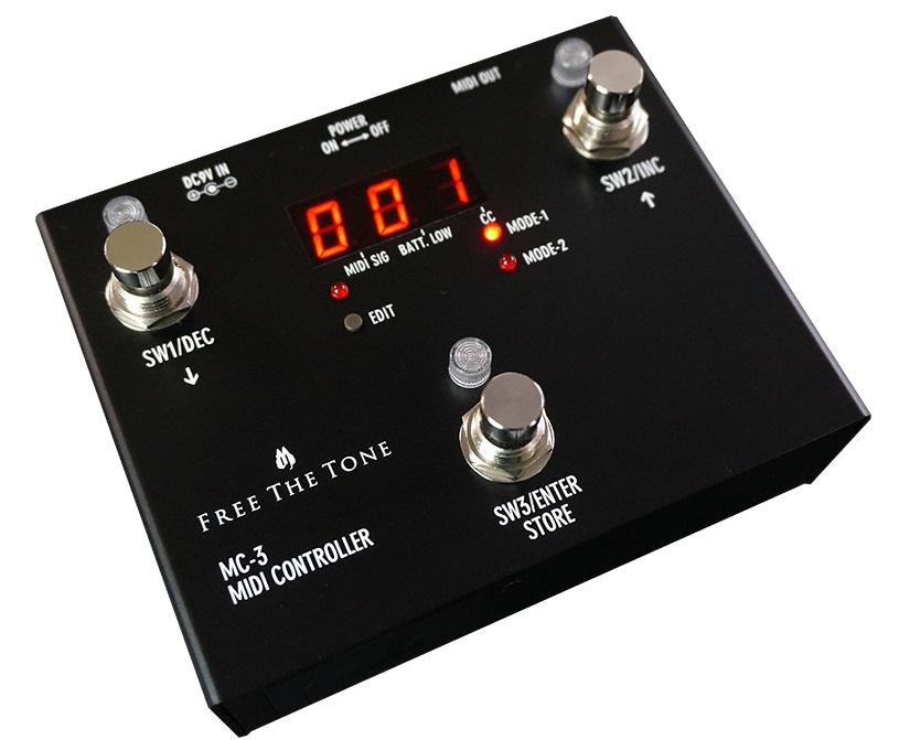 【今日の超目玉】 FREE THE TONE MIDI MIDI TONE CONTROLLER THE MC-3, 黒田庄町:bf69d998 --- konecti.dominiotemporario.com