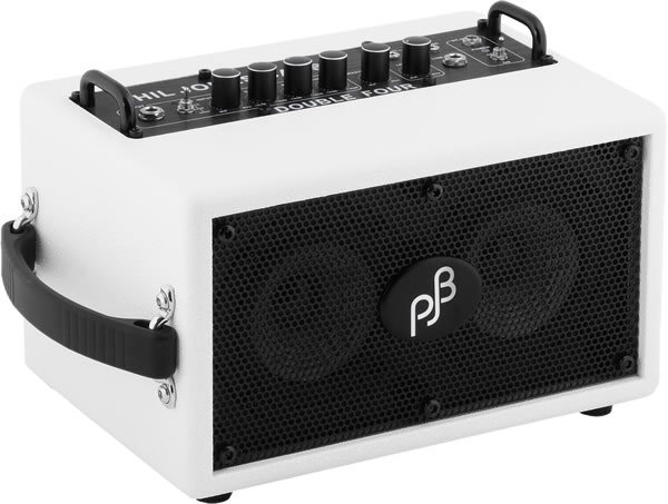 Phil Jones Bass Double Four / White