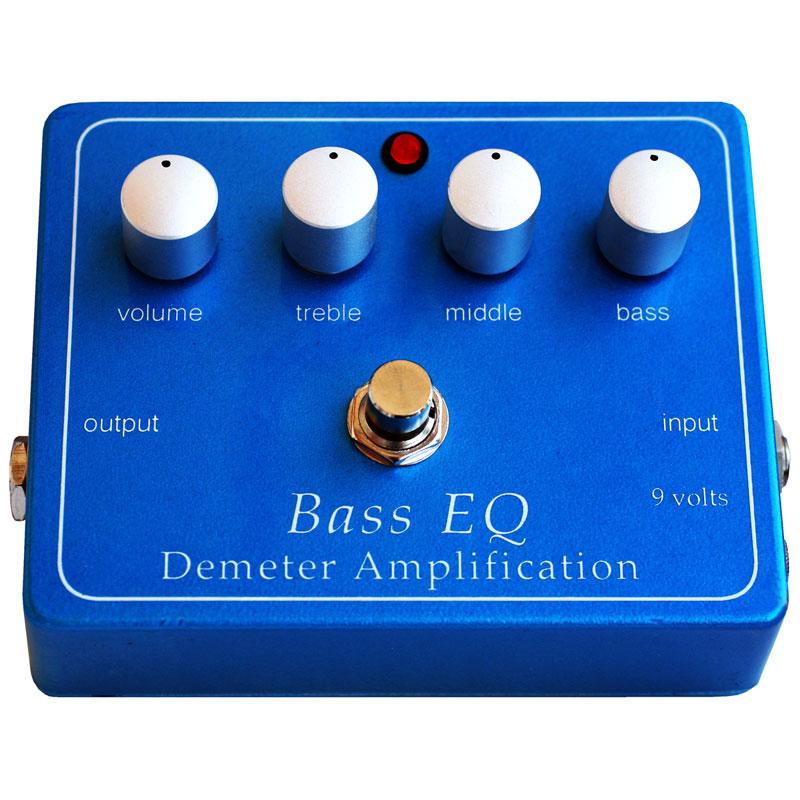 DEMETER BEQ-PB SALENEW大人気 Bass Preamp EQ + NEW