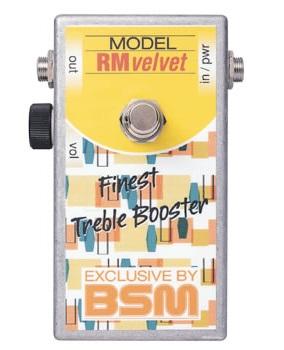 BSM RM Velvet / トレブル&ベースブースター