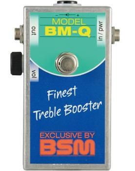 BSM BM-QV / トレブル・ブースター(ボリューム付き)