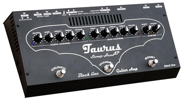 Taurus StompHead 3 Black Line