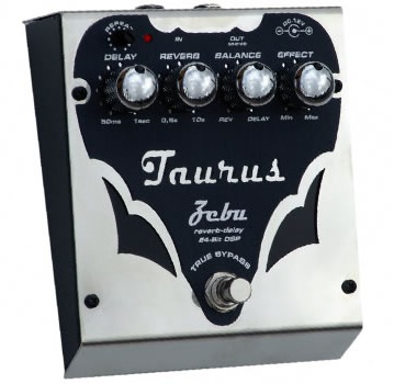 Taurus Zebu SilverLine リバーブ/ディレイ・ペダル