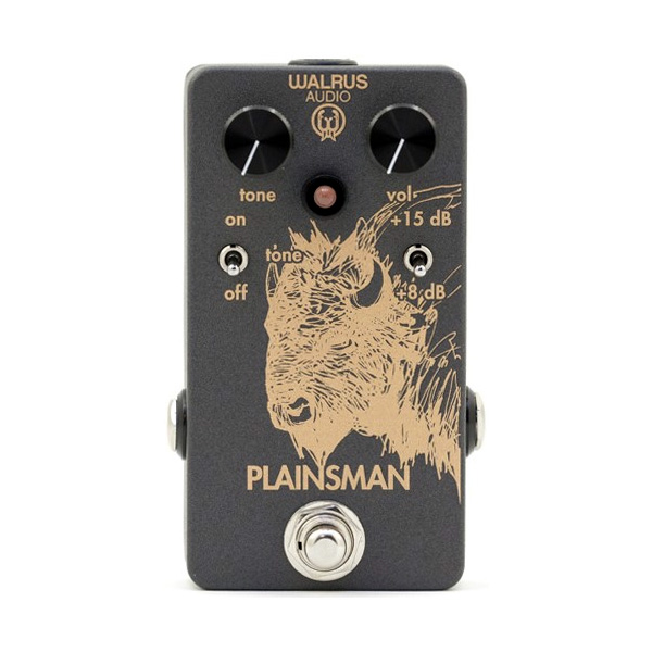 Walrus Audio / PLAINSMAN [Dual Stage Boost]