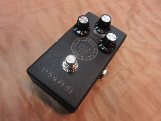 STOMPROX OVER DRIVE -BLACK LABEL- FOR BASS