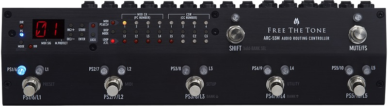 【即納可能】FREE THE TONE Routing Controller ARC-53M BLACK