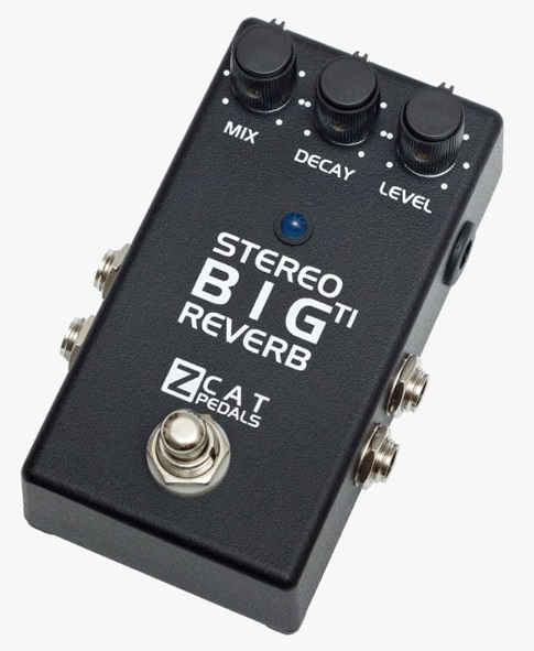 ZCAT Pedals / Big Reverb TI Stereo