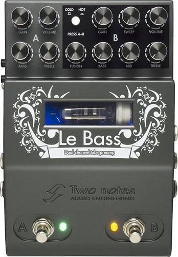 【即納可能】Two Notes Le Bass Notes 真空管ベース Bass・プリアンプ〈2CH MIDI対応〉, ゴルフショップフラットヒル:23337d23 --- holidayfiesta.net
