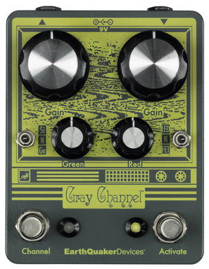 EarthQuaker Devices / Gray Channel Dynamic Dirt Doubl