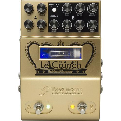 【即納可能】Two Notes Le Crunch 真空管ギター・プリアンプ〈2CH MIDI対応〉