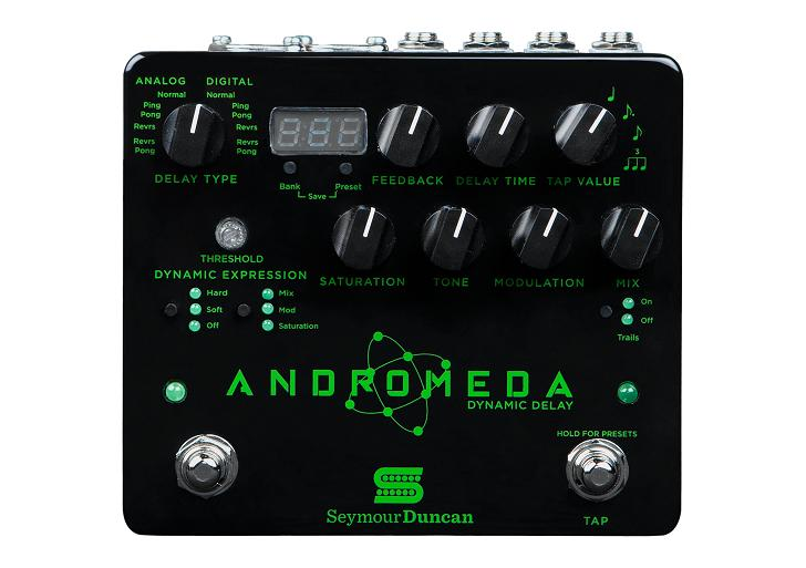 【ご予約受付中 Delay-】Seymour Duncan -Dynamic Andromeda -Dynamic Andromeda Delay-, cream Soda:711d5554 --- ww.thecollagist.com