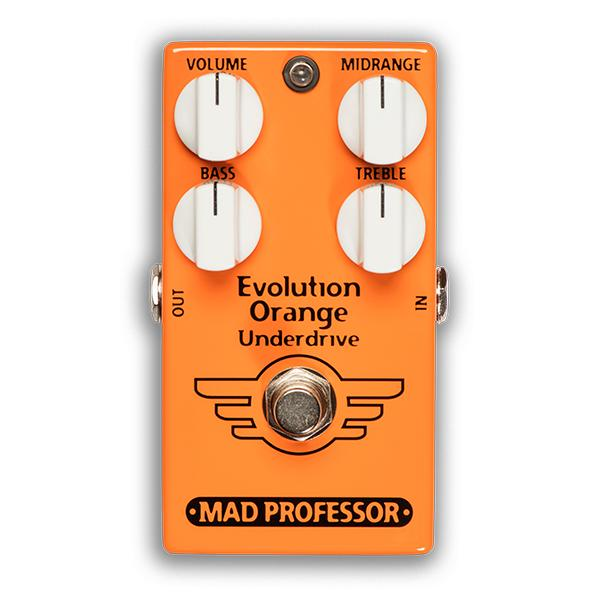 【お取り寄せ】MAD PROFESSOR EVOLUTION ORANGE UNDERDRIVE FAC