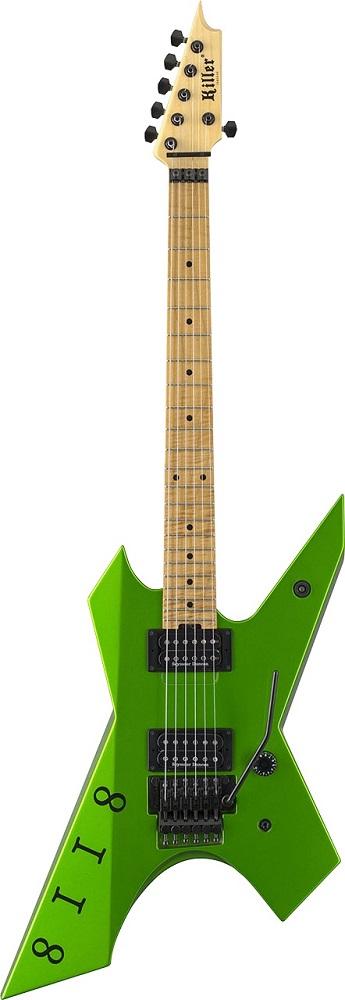 【受注モデル】【LOUDNESS 高崎晃シグネーチャー・モデル】Killer KG-Prime Signature 8118 Viper Green