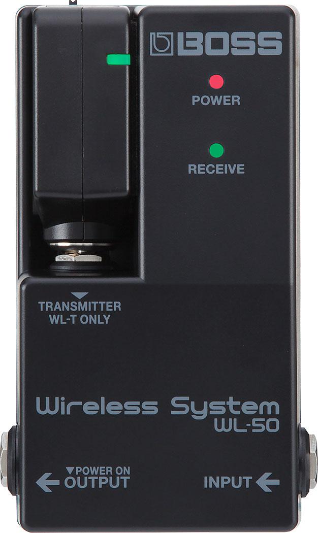 【ご予約商品】BOSS / WL-50 Wireless System【納期未定:11月以降順次入荷予定】