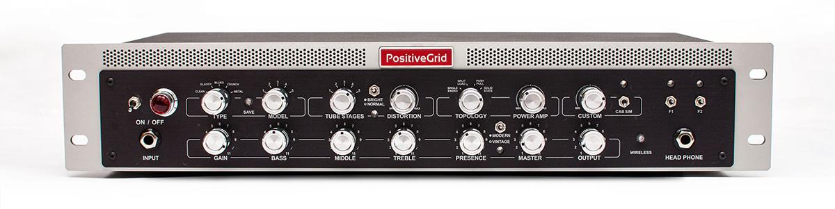 Positive Grid / BIAS Rack 600W AMP MATCH RACKMOUNT AMPLIFIER