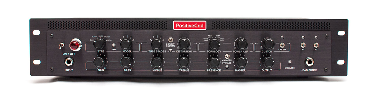 Positive Grid / BIAS Rack Processor