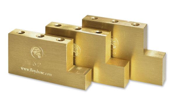 Floyd Rose Upgrade Parts / Fat Brass L-Shaped Block