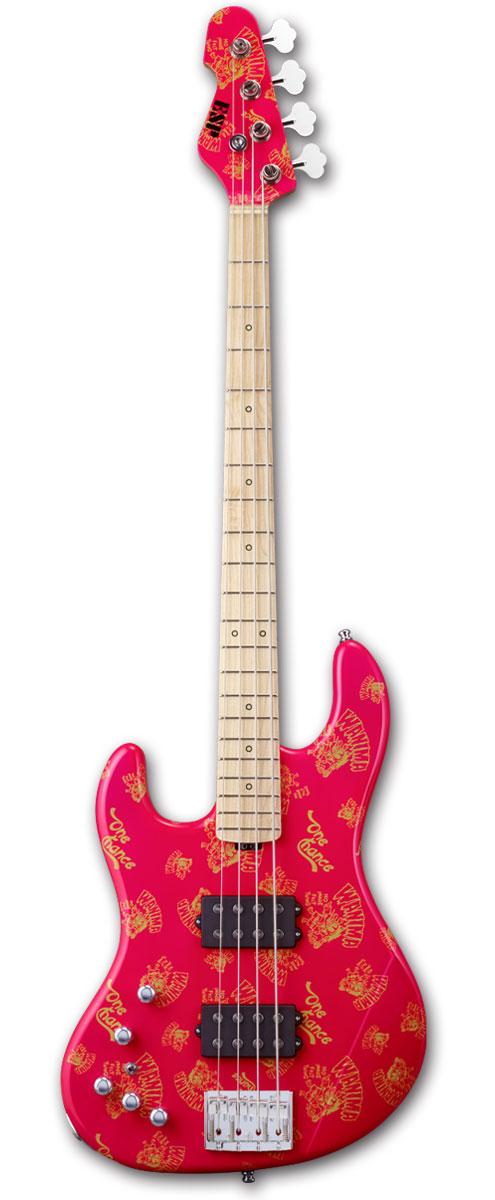 【受注生産】WANIMA KENTA MODEL ESP 助平 / PINK(左用モデル