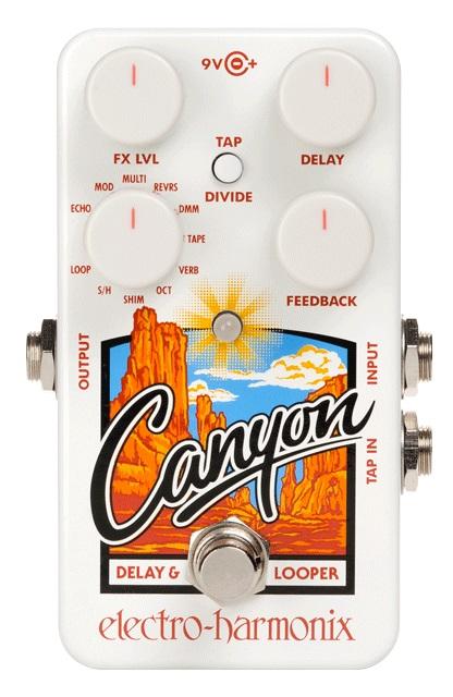 【超お買い得!】 Electro-Harmonix Delay/ Electro-Harmonix Canyon Delay & & Loopers, ミトヨグン:513516f5 --- canoncity.azurewebsites.net