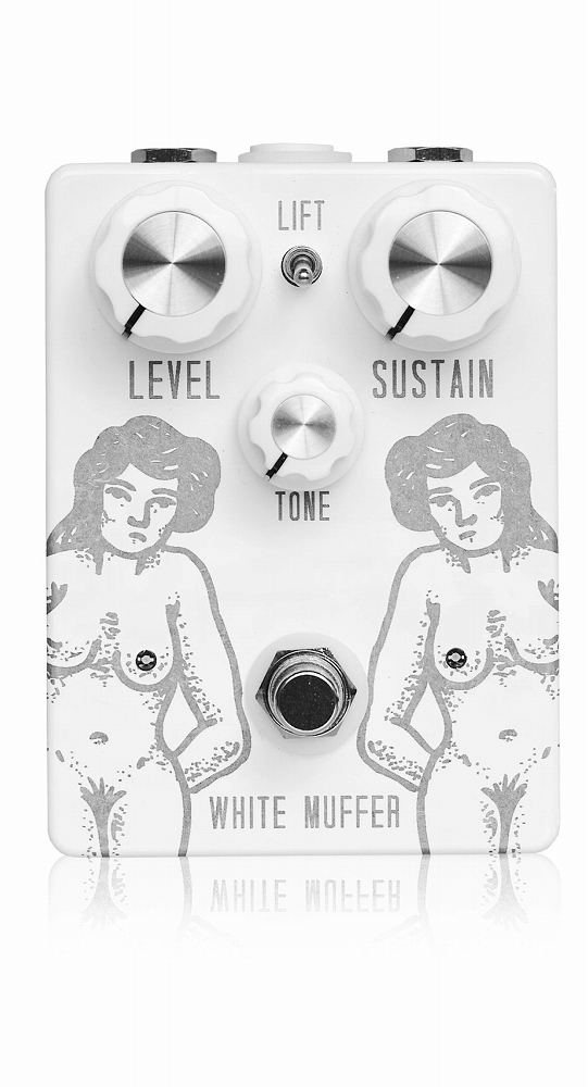 TOMKAT Pedals and ElectronicsWHITE MUFFER FUZZ