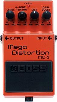 BOSS Mega Distortion MD-2 【エフェクター】