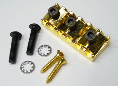 Floyd Rose Replacement Parts Lock Nut R2 Set / Gold