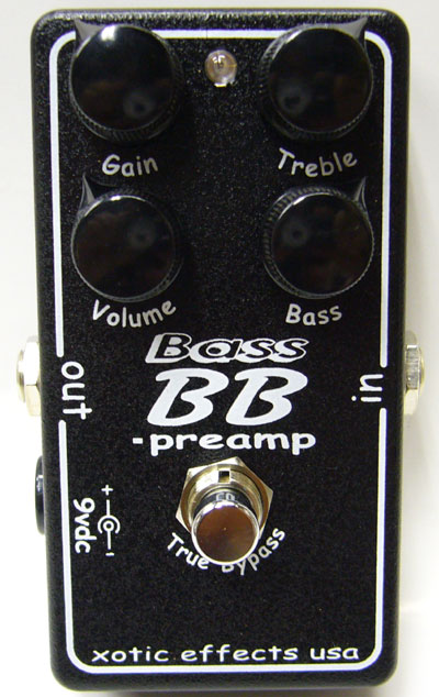 XOTIC BASS BB-preamp