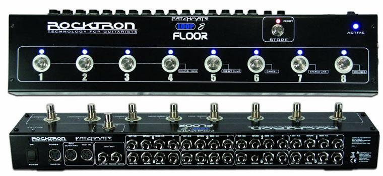 【お取り寄せ商品】ROCKTRON PatchMate Loop 8 Floor(ペダルタイプ・スイッチングシステム)