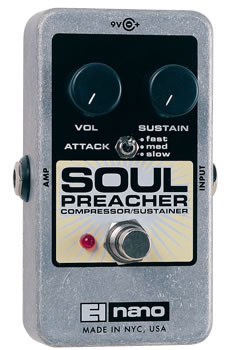 electro-harmonix Soul Preacher コンプレッサー/サスティナー