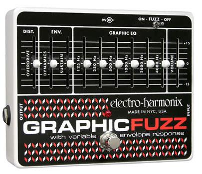 electro-harmonix Graphic Fuzz イコライザー+ファズ