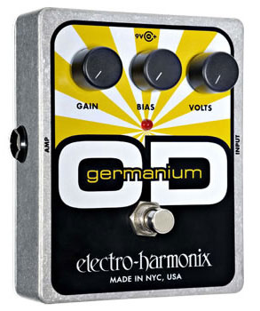electro-harmonix Germanium OD オーバードライブ