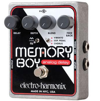 electro-harmonix Memory Boy アナログディレイ