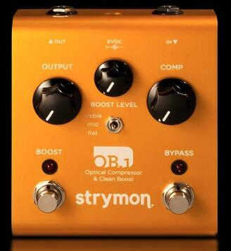Strymon OB.1 Optical Compressor & Clean Boost unit