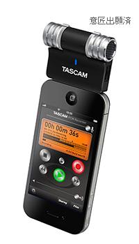 iPhone用ステレオコンデンサーマイクTASCAM iM2